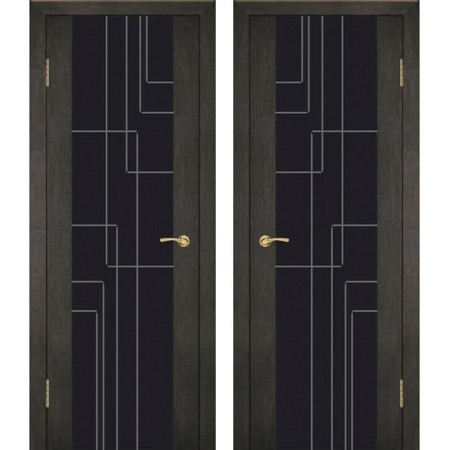 Межкомнатные двери Геона Триплекс Платина