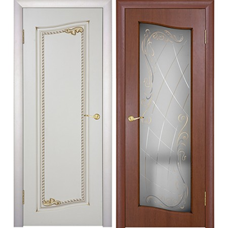 Межкомнатные двери Геона Премиум Астория 3D