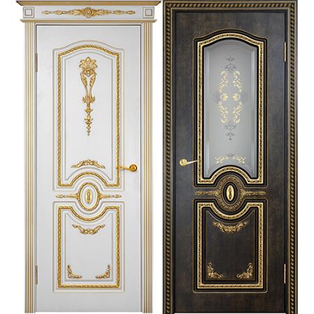 Межкомнатные двери Геона Премиум Калисто 3D