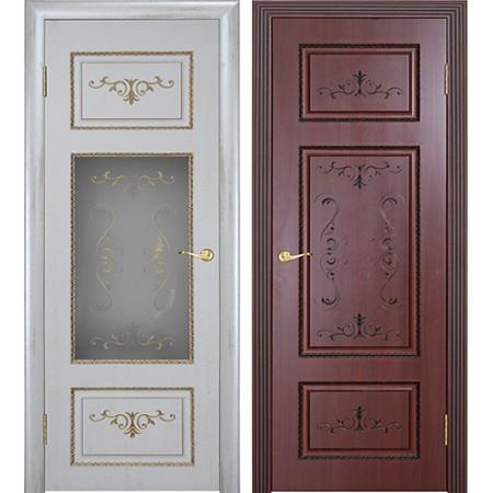 Межкомнатные двери Геона Премиум Лоренцо 3D