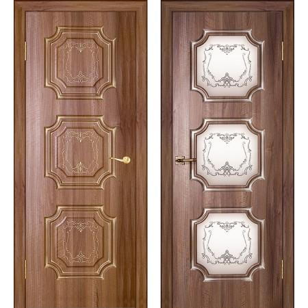 Межкомнатные двери Геона Премиум Неаполь 3D