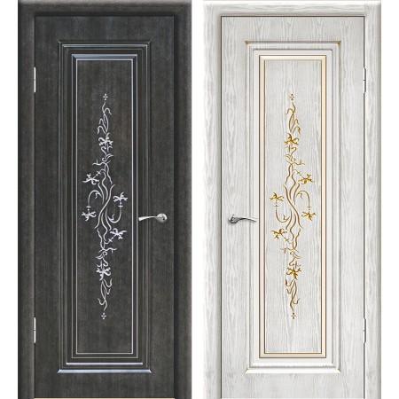 Межкомнатные двери Геона Премиум Сиена 3D