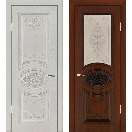 Межкомнатные двери Геона Премиум Сильвия-1 3D
