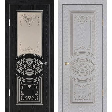 Межкомнатные двери Геона Премиум Сильвия 3D