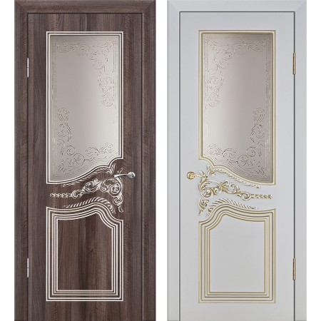 Межкомнатные двери Геона Премиум Теодор 3D
