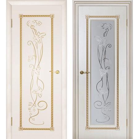 Межкомнатные двери Геона Премиум Тоскана 3D