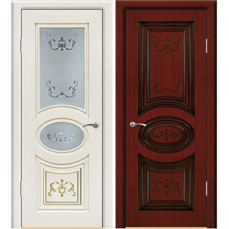 Межкомнатные двери Геона Премиум Валенсия 3D