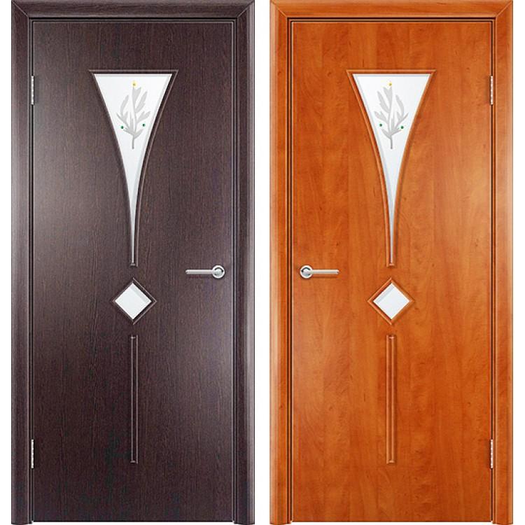 Дверь тюльпан фото