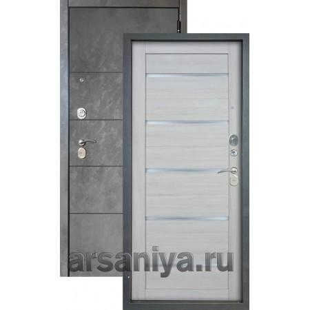 Входная дверь Аргус Люкс 3К 2П Агат-Александра