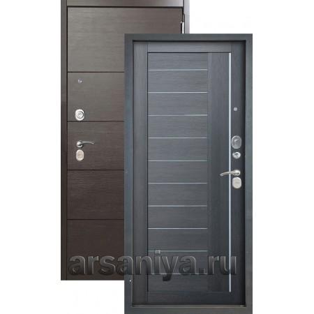 Входная дверь Аргус Люкс 3К 2П Агат-Диана