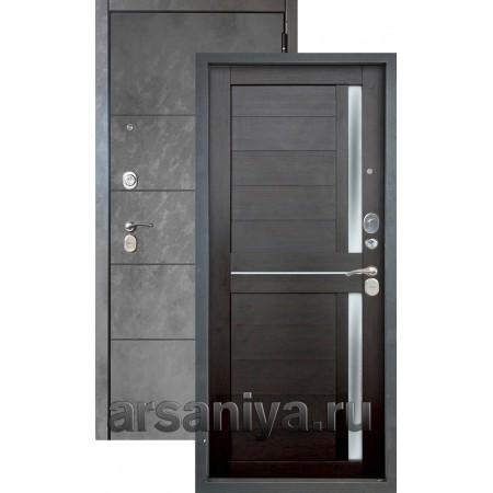 Входная дверь Аргус Люкс 3К 2П Агат-Мирра