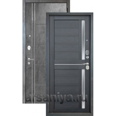 Входная дверь Аргус Люкс 3К 2П Лофт-Мирра