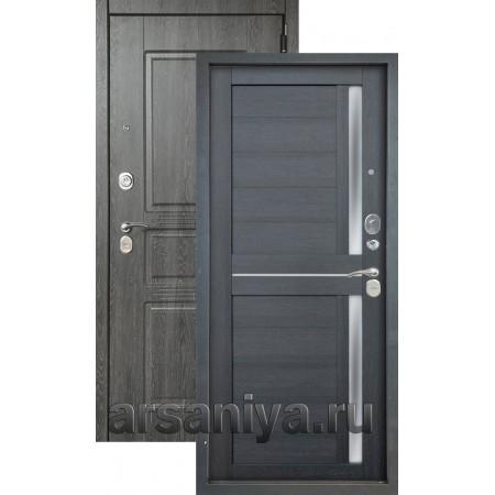 Входная дверь Аргус Люкс 3К 2П Сабина-Мирра