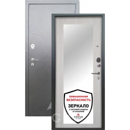 Входная металлическая дверь Аргус ДА-61 с зеркалом