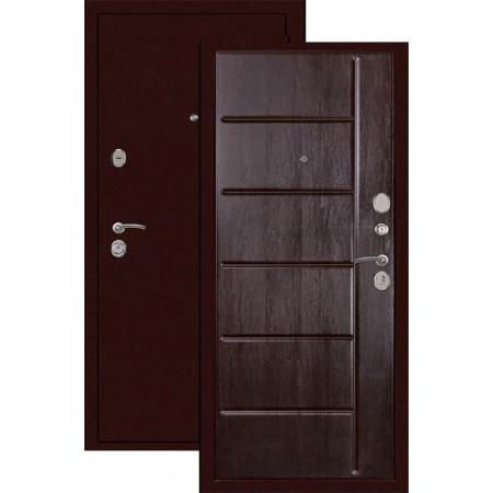 Входная металлическая дверь Сударь С-503 венге
