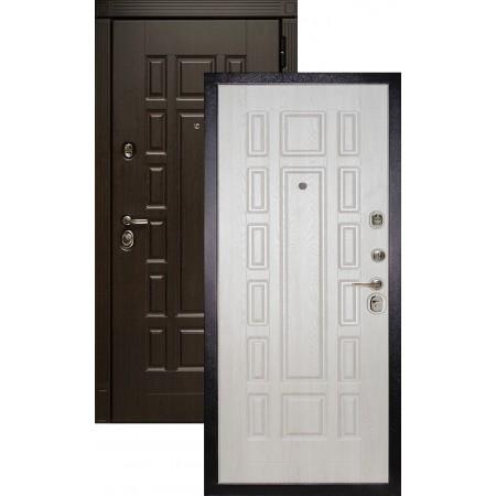 Входная металлическая дверь Сударь МД-38 дуб