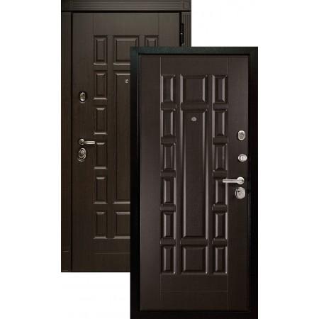 Входная металлическая дверь Сударь МД-38 венге