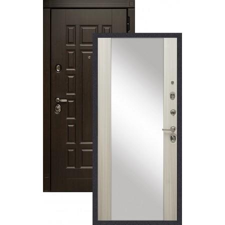 Входная металлическая дверь Сударь МД-38 с зеркалом